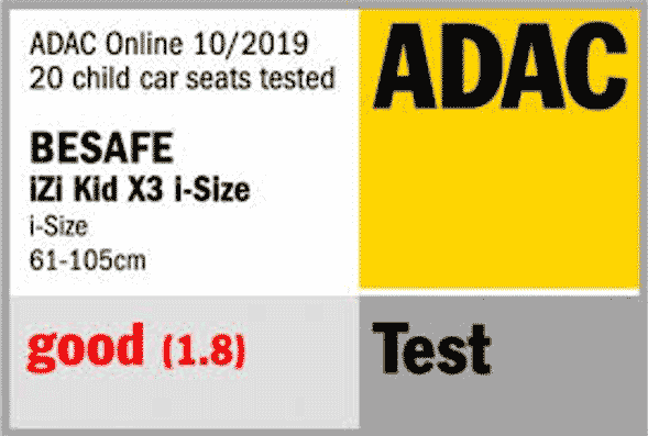BeSafe Izi Kid Adac Results