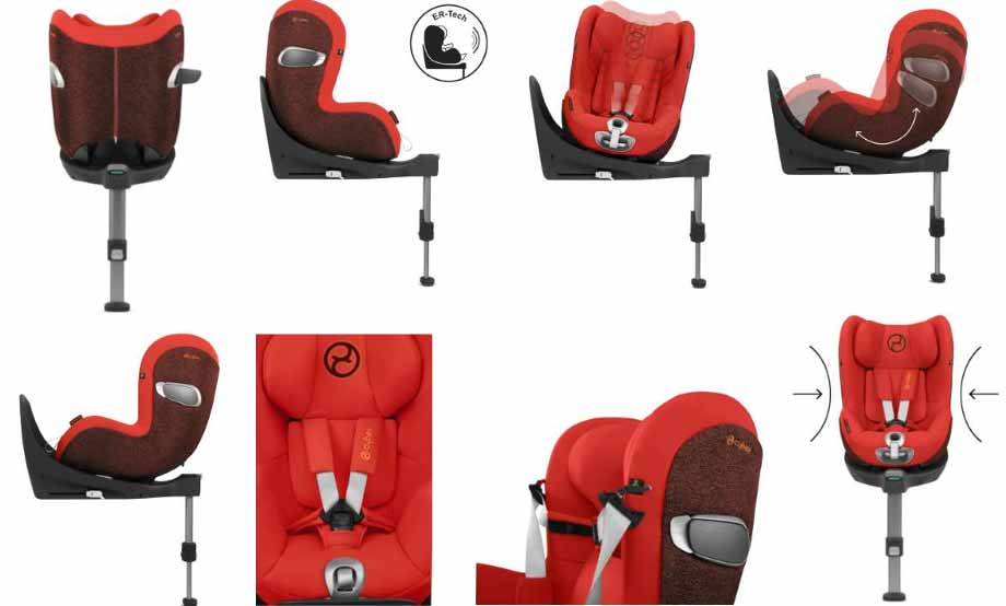 cybex sirona z features
