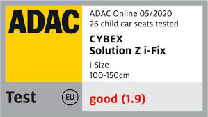 cybex solution z-ifix adac safety rating