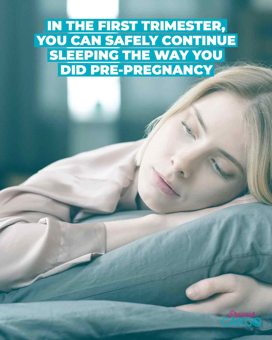 Sleeping in the first trimester of pregnancy
