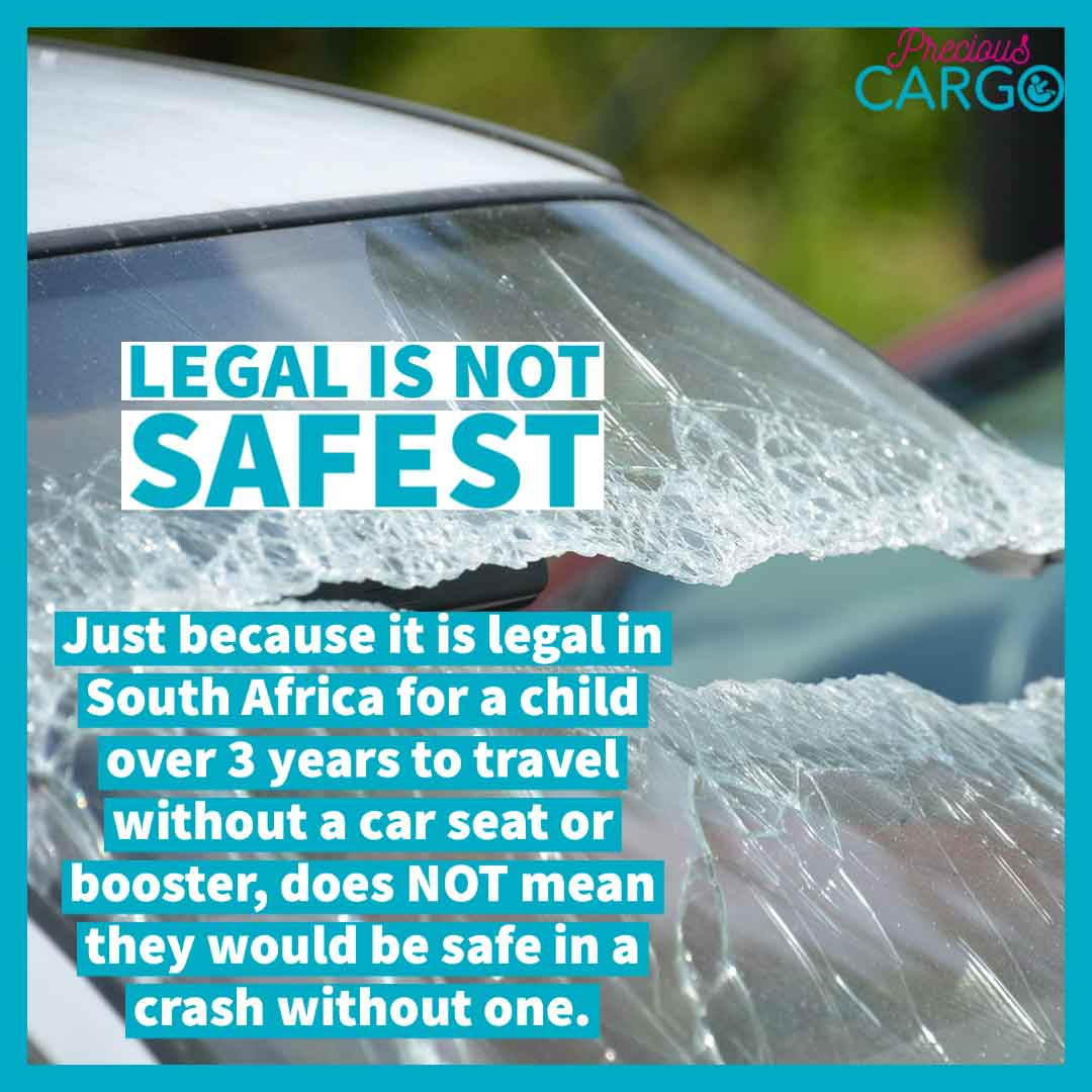 car seat law South Africa