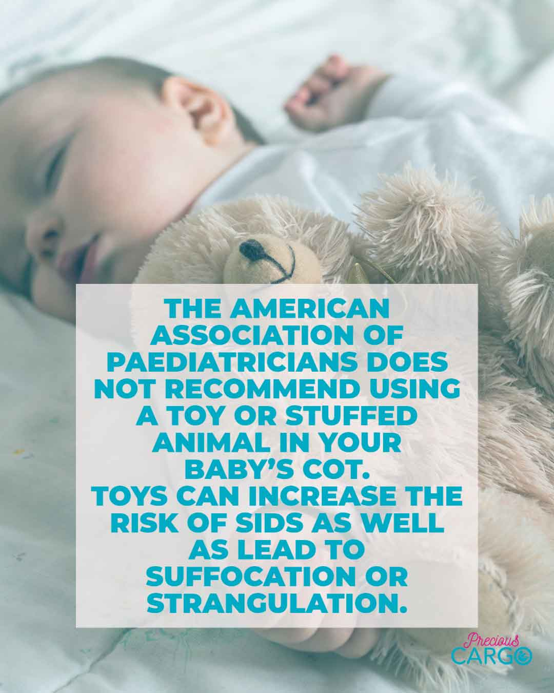 is it safe for baby to sleep with a toy
