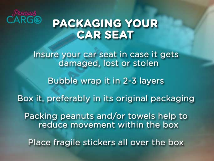Safely Packing A Car Seat For Flight