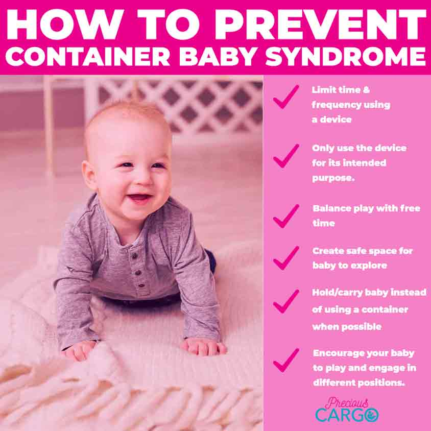 how to avoid container baby syndrome