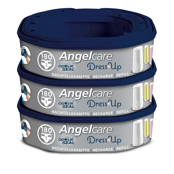 ANGELCARE DRESS UP NAPPY BIN REFILL OCTAGON