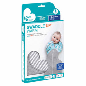 LOVE TO DREAM SWADDLE UP WINTER WARM 2.5 TOG (TURQUOISE)