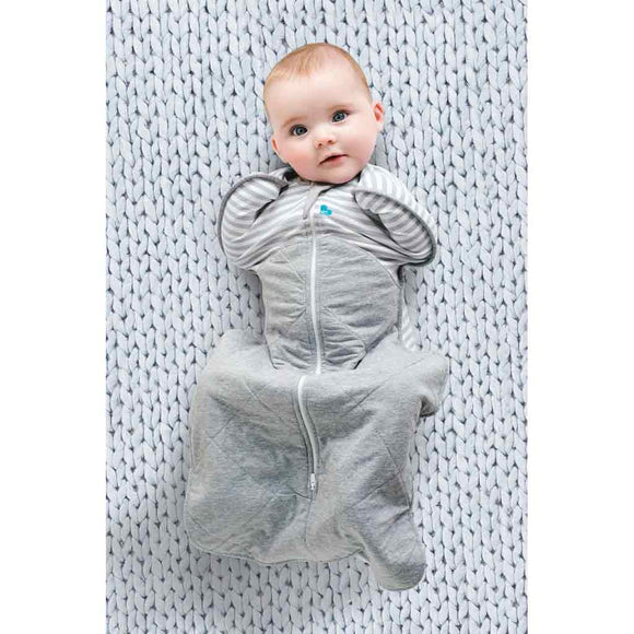 LOVE TO DREAM SWADDLE UP WINTER WARM 2.5 TOG (GREY)