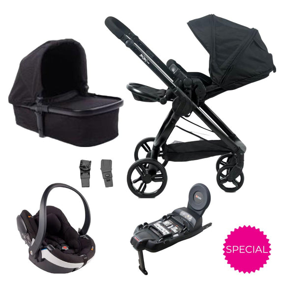 MIMI PRAM WITH BESAFE 4-IN-1 TRAVEL SYSTEM