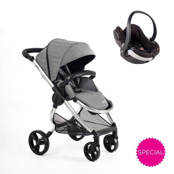 MIMI PRAM WITH BESAFE 2-IN-1 TRAVEL SYSTEM