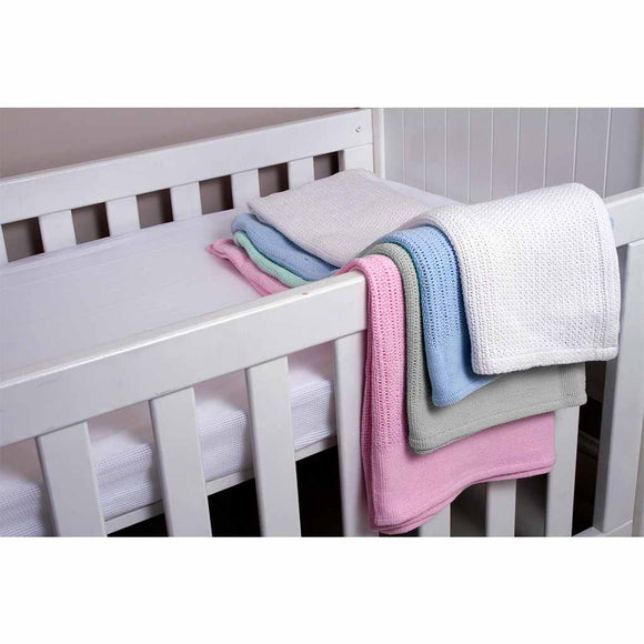 SNUGGLETIME CELLULAR BLANKET (COT)