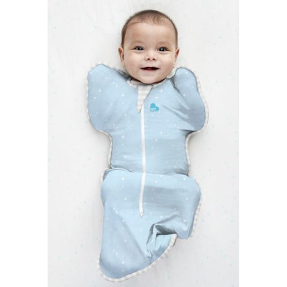 LOVE TO DREAM SWADDLE UP LITE 0.2 TOG (BLUE)