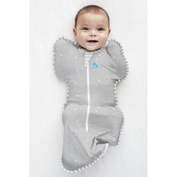 LOVE TO DREAM SWADDLE UP LITE 0.2 TOG (GREY STARS)