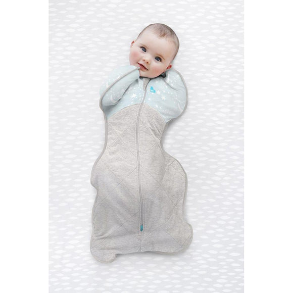LOVE TO DREAM SWADDLE UP WINTER WARM 2.5 TOG (BLUE)