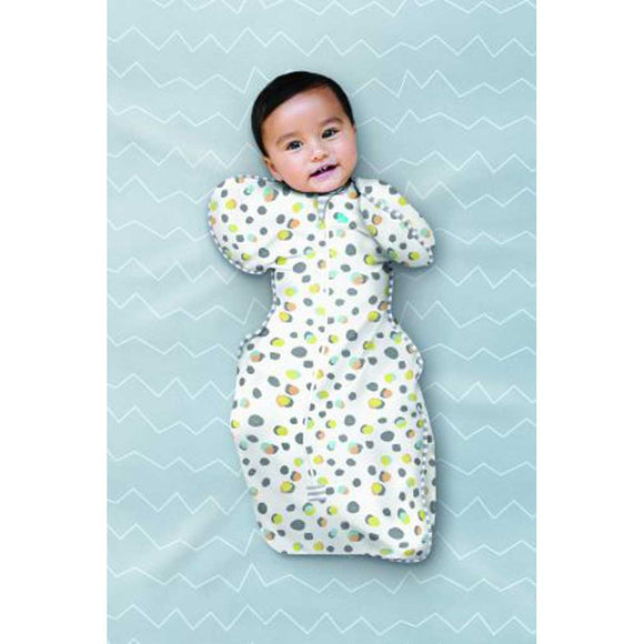 LOVE TO DREAM SWADDLE UP DESIGNER 1.0 TOG (POLKA DOTS)