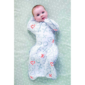 LOVE TO DREAM SWADDLE UP DESIGNER 1.0 TOG (KISSES)