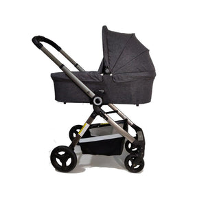 ALFA KIDS DELUXE 4-IN-1 STROLLER, CARRY COT, PEBBLE PRO AND 3WAYFIX