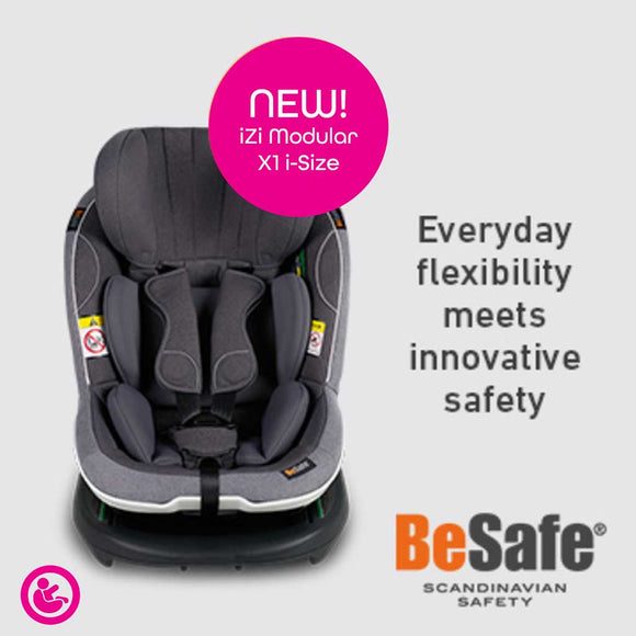 NEW! BESAFE IZI MODULAR X1 I-SIZE GROUP 1 (excl. base)