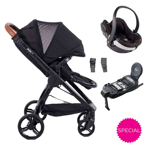 MIMI PRAM WITH BESAFE 3-IN-1 TRAVEL SYSTEM