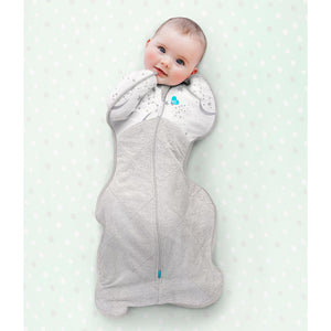 LOVE TO DREAM SWADDLE UP WINTER WARM 2.5 TOG (WHITE)