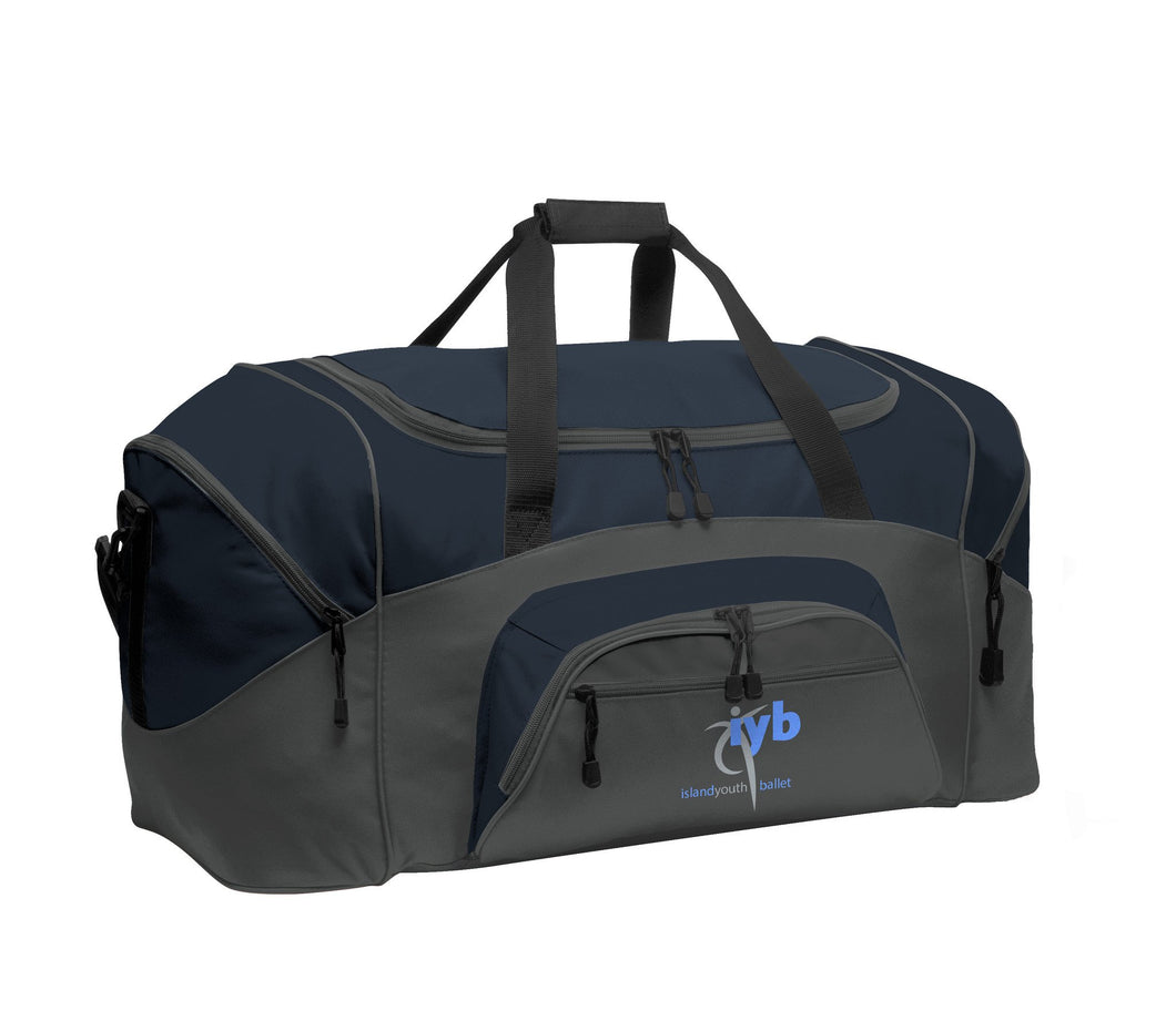 Port Authority Color Block Sport Duffel