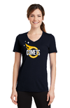 Port & Company® Ladies Performance Blend V-Neck Tee
