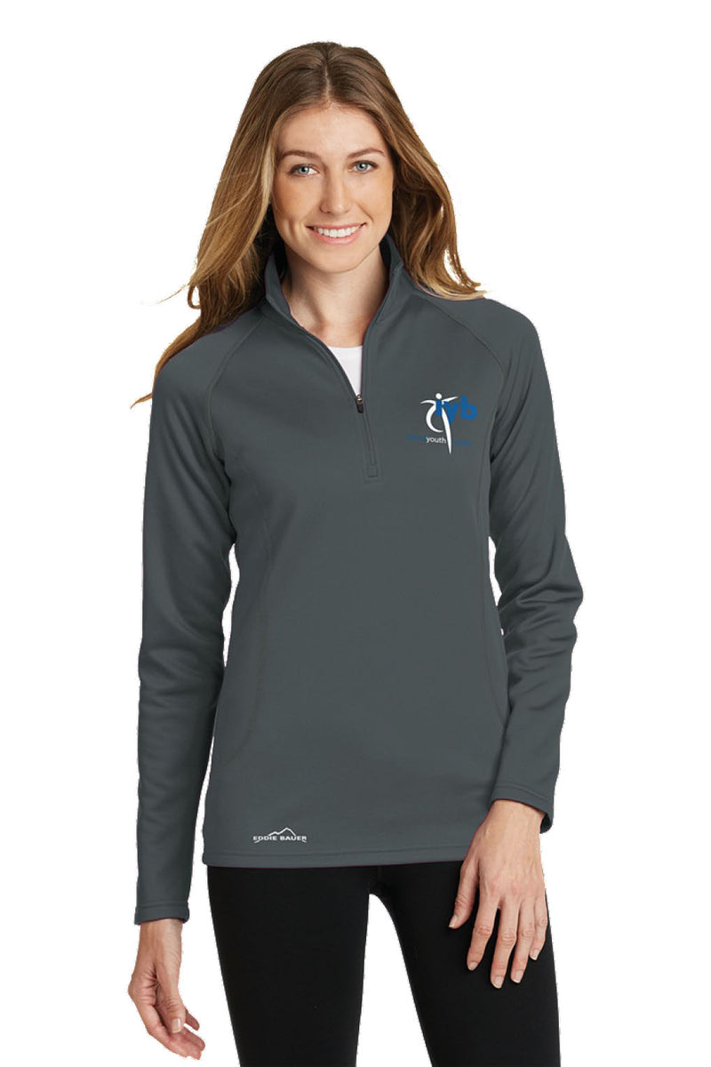 Eddie Bauer Ladies 1/2-Zip Base Layer Fleece