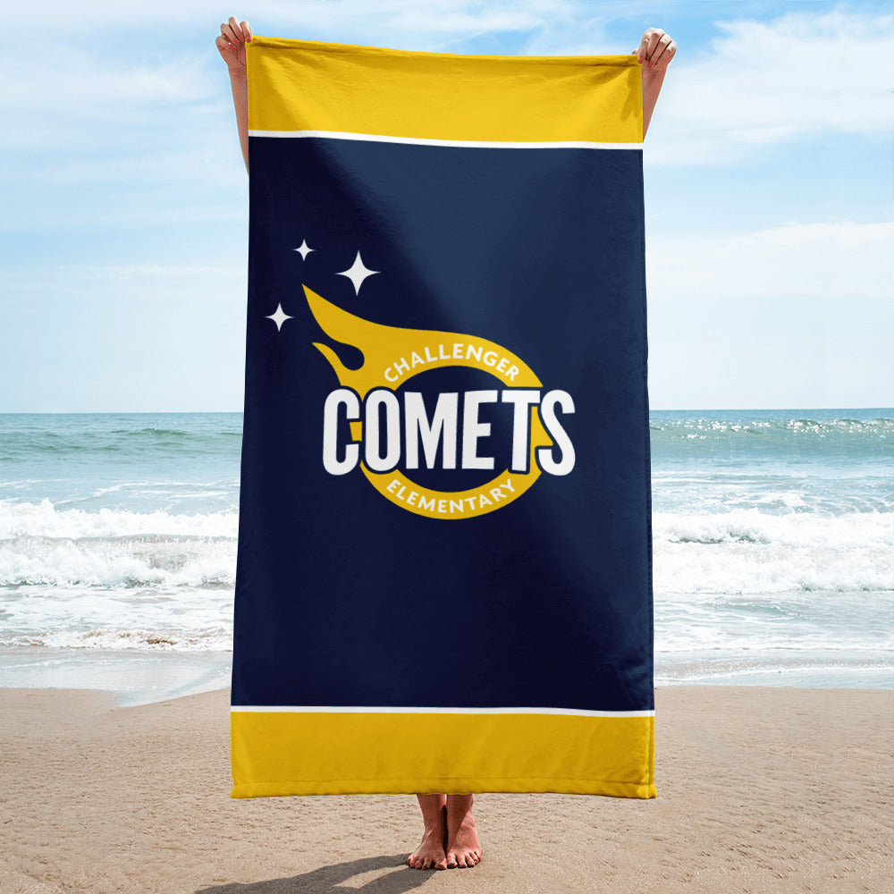"Comets 30"" x 60"" Beach Towel"