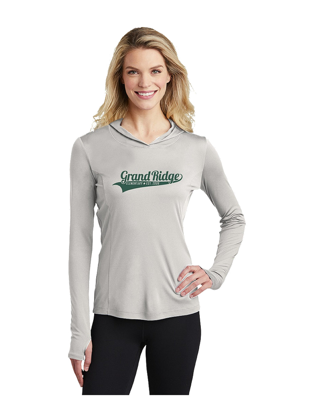 Sport-Tek Ladies PosiCharge Competitor™ Hooded Pullover