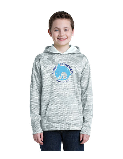 Sport-Tek CamoHex Fleece Hoodie (Youth)