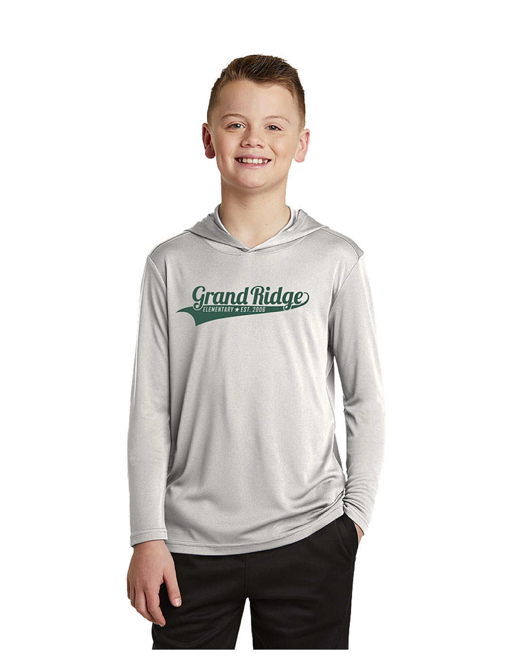 Sport-Tek Youth PosiCharge Competitor™ Hooded Pullover