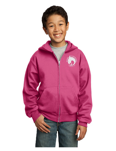 Port & Company - Core Fleece Full-Zip Hoodie (Youth)