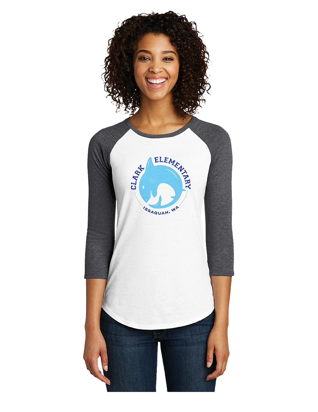 District - Very Important Tee 3/4-Sleeve Raglan (Ladies)