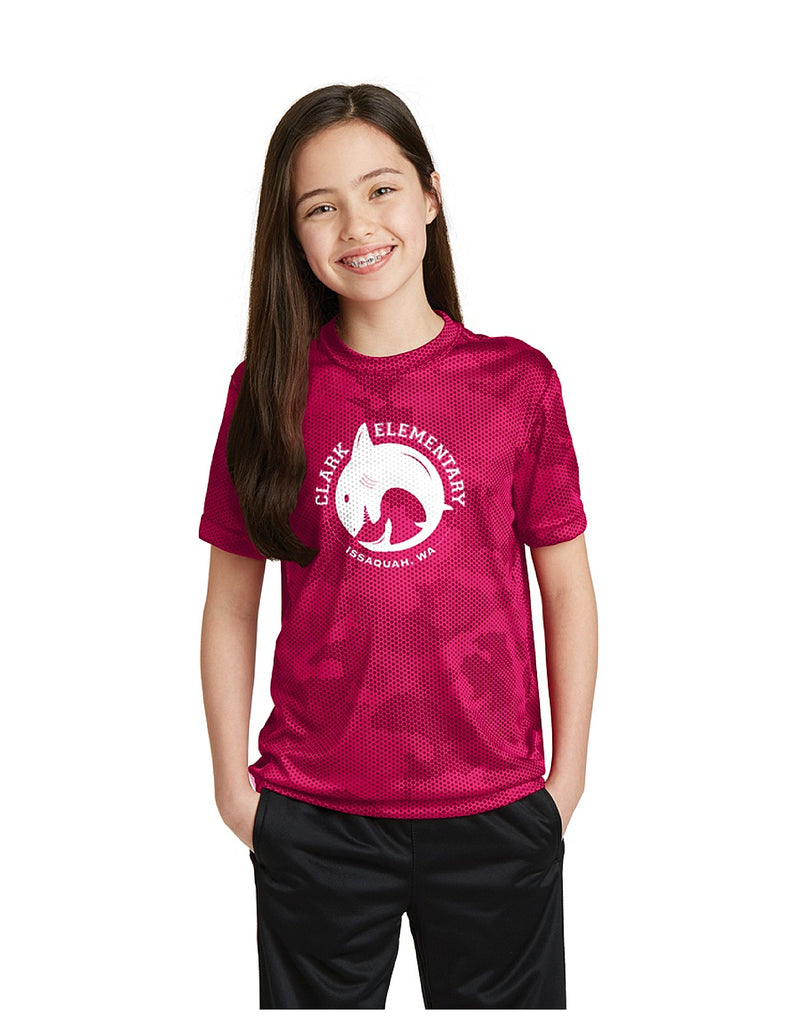 Sport-Tek CamoHex Tee (Youth)
