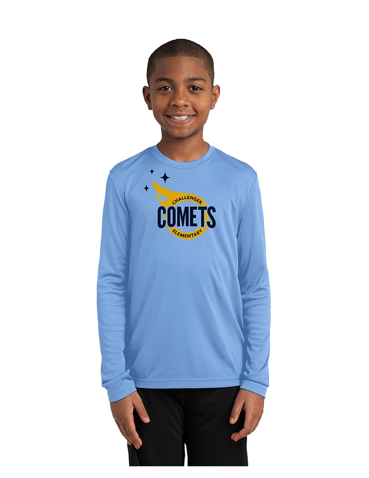 Port & Company ® Youth Long Sleeve Performance Tee