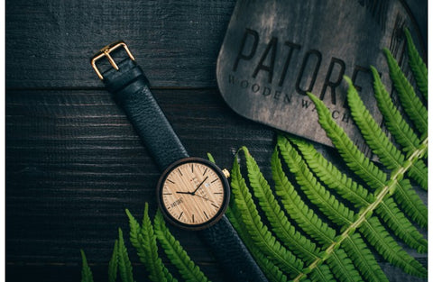 Wooden Watch - Patore' Dainty - Patore' UK - Wooden Bow Ties
