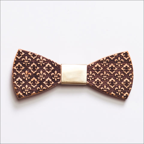 Edward Chapman - Patore' UK - Wooden Bow Ties