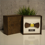 Anthony Green - Patore' UK - Wooden Bow Ties