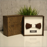 Hugh Wade - Patore' UK - Wooden Bow Ties