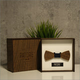 Richard Hill - Patore' UK - Wooden Bow Ties