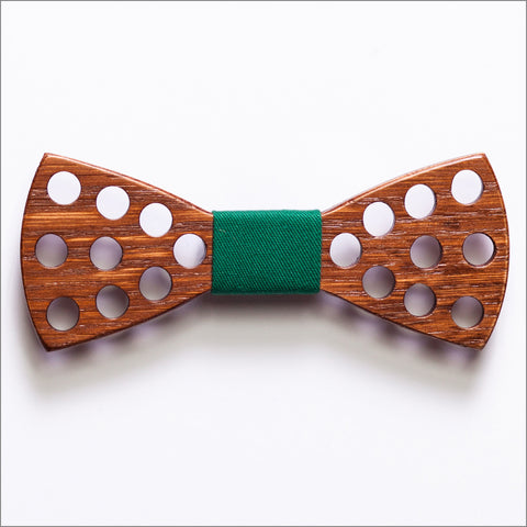 Spencer Dillard - Patore' UK - Wooden Bow Ties