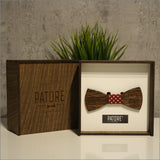 Ryan Moore - Patore' UK - Wooden Bow Ties