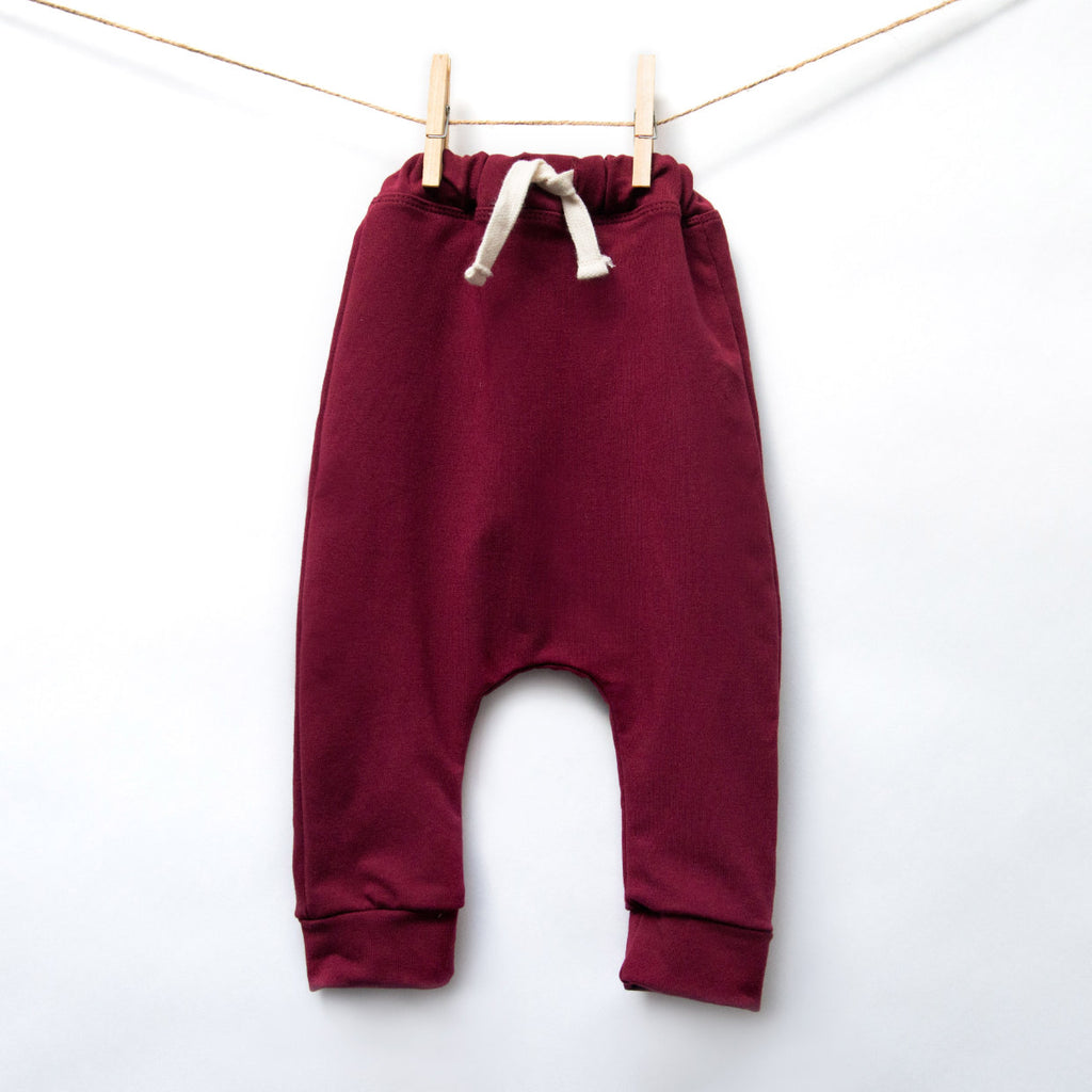 Harem Pants Unico - Burgundy