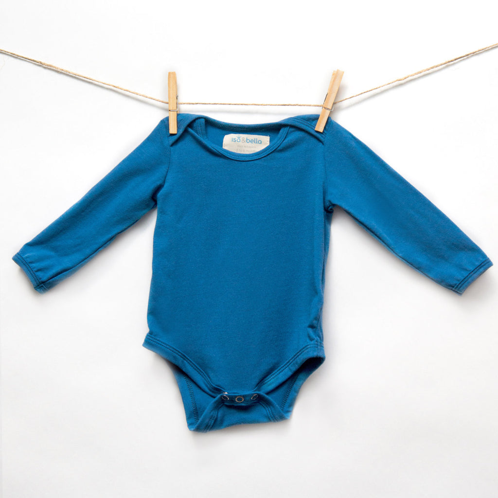 Onesie Organic Basico - Royal Blue