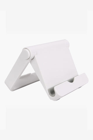 Silver Foldable Tablet / Mobile Device Stand