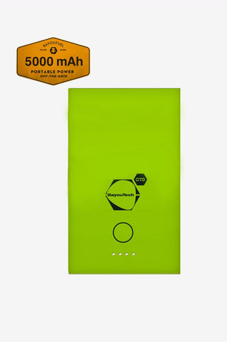 Survival 10K Powerbank 10,000mAh with Solar Charger and Light