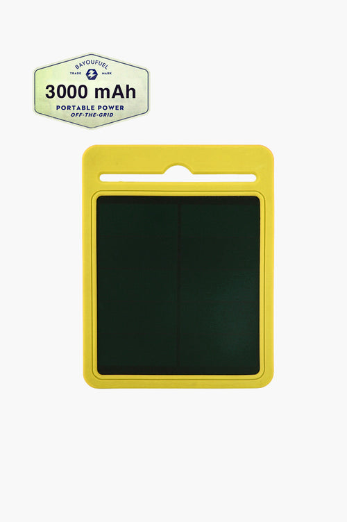 3000mAh Mini Solar Charger (3 UNITS - wholesale)