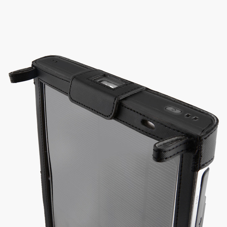 OTG G1 Solar Charger with Case, USB Cable and Lanyard