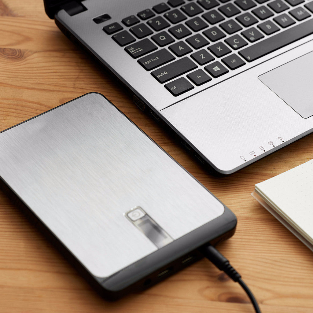 23000mAh Portable Laptop Charger with Power Adapter, DC Cable and 10 Adapter Tips