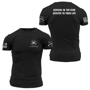 90ff03c3 Grunt style/Lift For The 22 limited edition Achieve shirt – liftforthe22