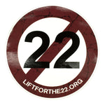 Lift for the 22 window sticker